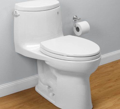 Táto jednotka je prezentovaná ako vysokoúčinná toaleta